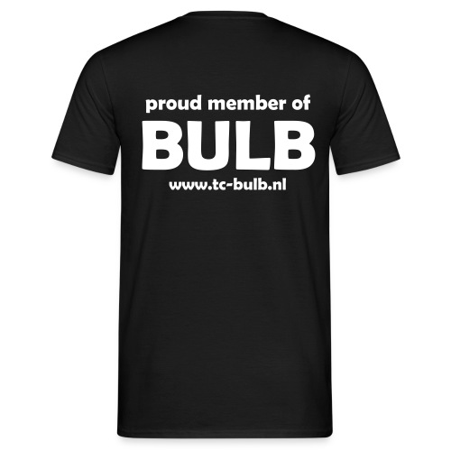 Bulb T-shirt 'Proud Member of Bulb' (heren) - Mannen T-shirt