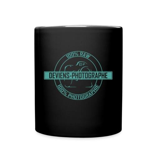 tasse 100% DP noir/vert - Mug uni