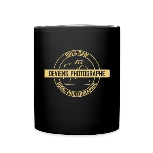 tasse 100% DP noir/jaune - Mug uni