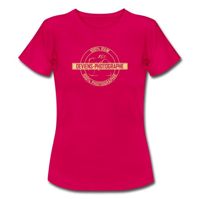 Tee shirt -  Femme - 100% DP 2
