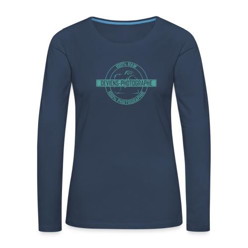 Sweat shirt -  Femme - 100% DP 1 - T-shirt manches longues Premium Femme