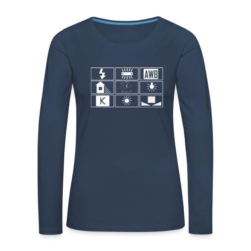 Sweat shirt -  Femme - wb 1 - T-shirt manches longues Premium Femme