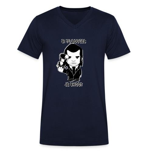 bouges, je shoot - tee shirt homme 4 - T-shirt bio col V Stanley & Stella Homme