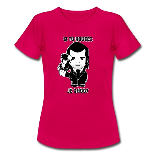 bouges, je shoot - tee shirt femme 2 - T-shirt Femme