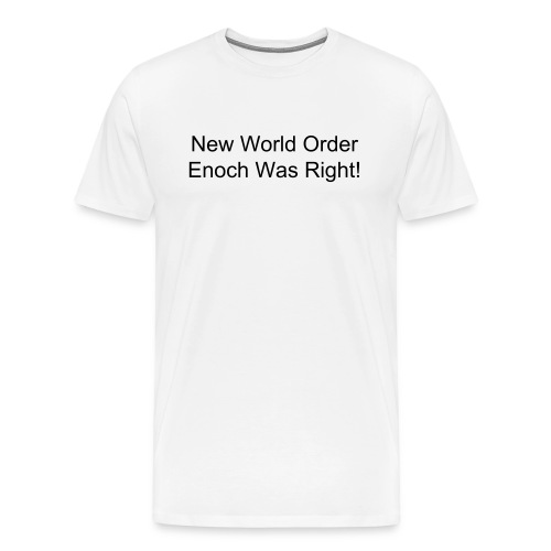 New World Order - Men's Premium T-Shirt