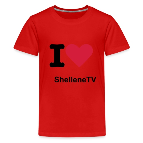 ShelleneTv - Teenage Premium T-Shirt
