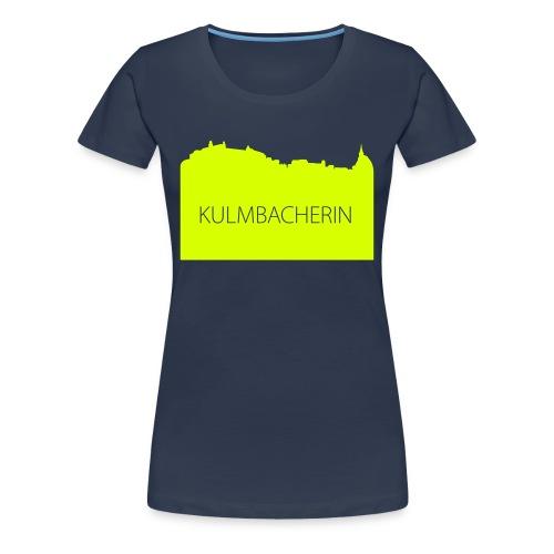 Silhouette Kulmbacherin - Frauen Premium T-Shirt