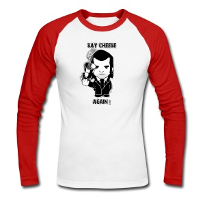 sweat shirt - homme - Say cheese again 3 - T-shirt baseball manches longues Homme