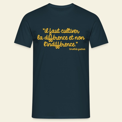 Citations Timothée Gustave - Les 3 Frères - T-shirt Homme