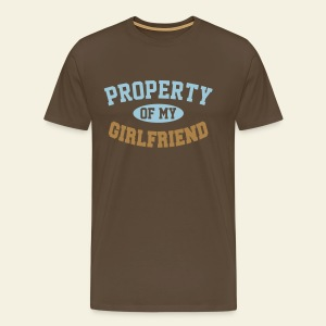 Property of my girlfriend - T-shirt Premium Homme