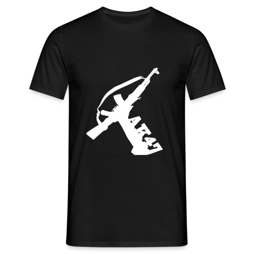 AK-47 (white/multicolor) - Men's T-Shirt