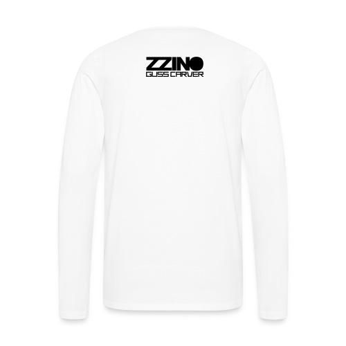Mannen Premium shirt met lange mouwen