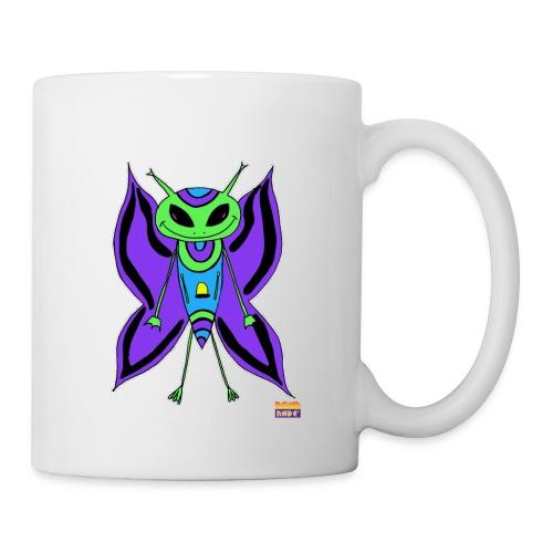 Mug blanc - Martien Papillon - Mug blanc