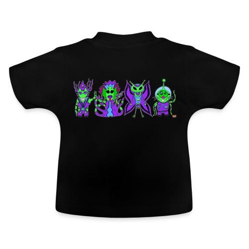 Tee shrit bébé - Martiens - T-shirt Bébé
