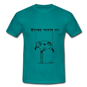 Toto - texte libre - Men's T-Shirt