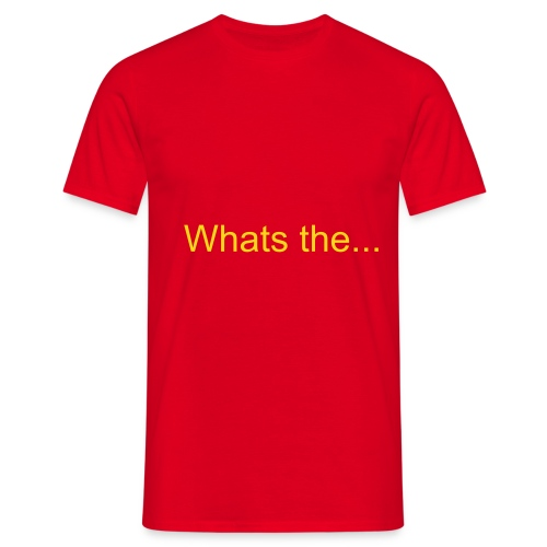whats the time - Men's T-Shirt