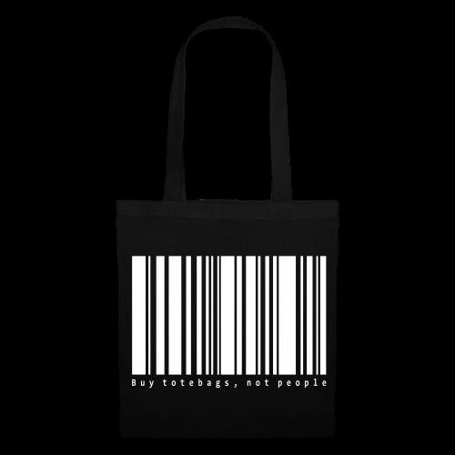 Barcode svart - Tygväska