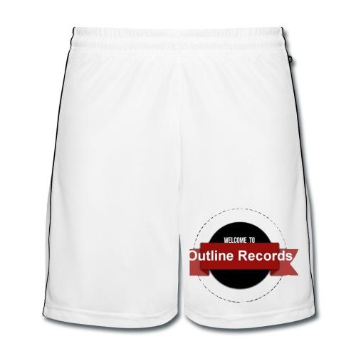 Outline Records shorts - Männer Fußball-Shorts