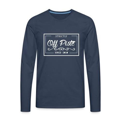 Strictly Off Piste Longsleeve Men - Männer Premium Langarmshirt