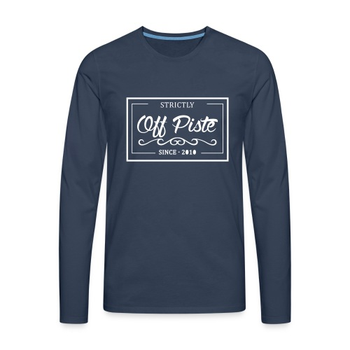 Strictly Off Piste Longsleeve Men - Männer Premium Langarmshirt