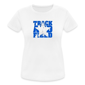Sport Shirt Woman Track And Field USA - Frauen T-Shirt atmungsaktiv