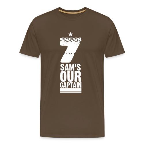 'Sam's Our Captain' Premium T-Shirt (Mens) - Men's Premium T-Shirt