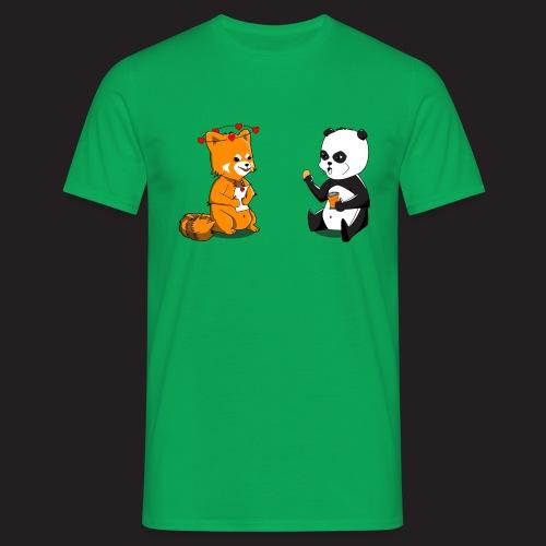 Pandas - T-shirt Homme
