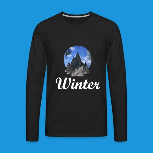 Pull Winter - T-shirt manches longues Premium Homme