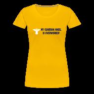 T-Shirts ~ Women's Premium T-Shirt ~ MY GUARDIAN ANGEL...