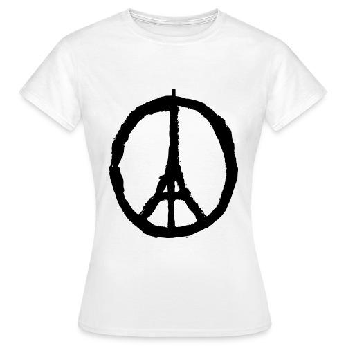 Peace for Paris - Tee shirt Femme - Women's T-Shirt