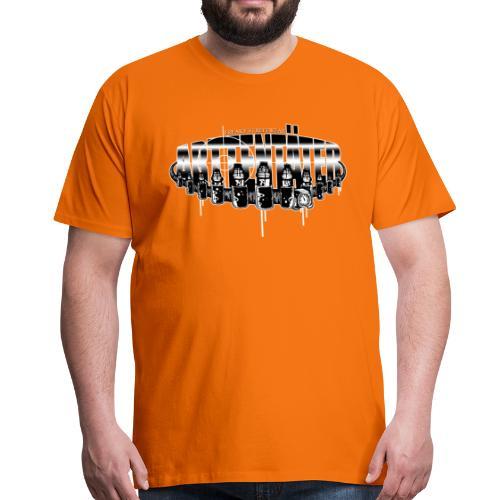 Arttentäter 5 - make art, not war - Männer Premium T-Shirt