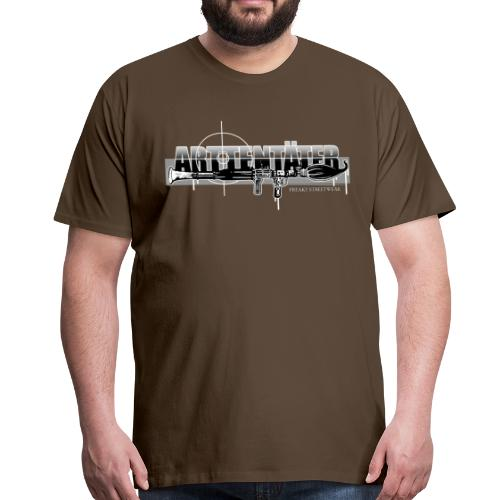 Arttentäter 3 - make art, not war - Männer Premium T-Shirt