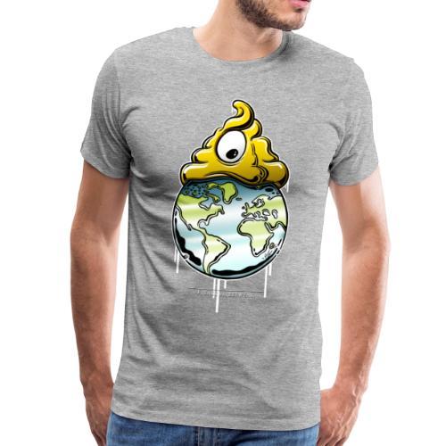Shit regiert die Welt - Männer Premium T-Shirt