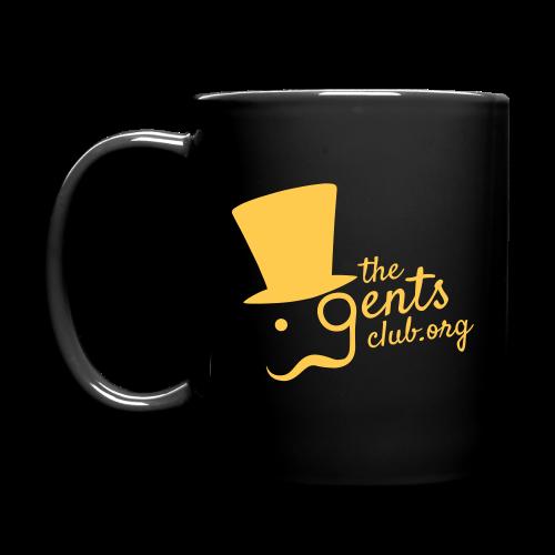TGC Mug - Gold on Black - Full Colour Mug