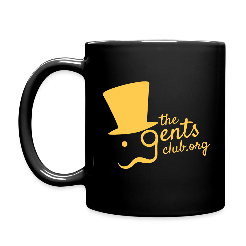 TGC Mug - Gold on Black - Full Colour Mug