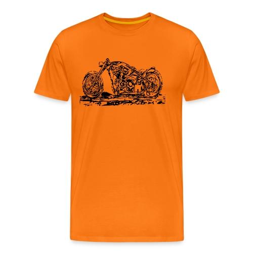 Chopper Black - Männer Premium T-Shirt