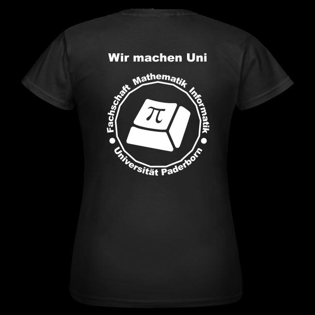 T-Shirt - Damen - Weißes Logo