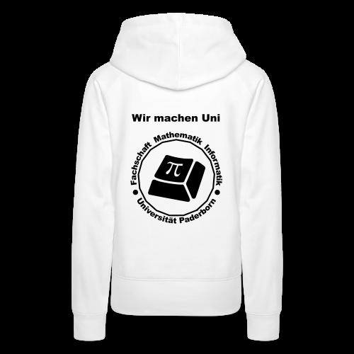 Hoodie - Damen - Schwarzes Logo - Frauen Premium Hoodie