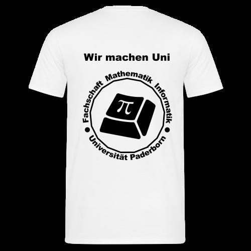 T-Shirt - Herren - Schwarzes Logo - Männer T-Shirt
