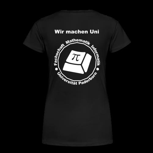 T-Shirt:Premium - Damen - Weißes Logo - Frauen Premium T-Shirt