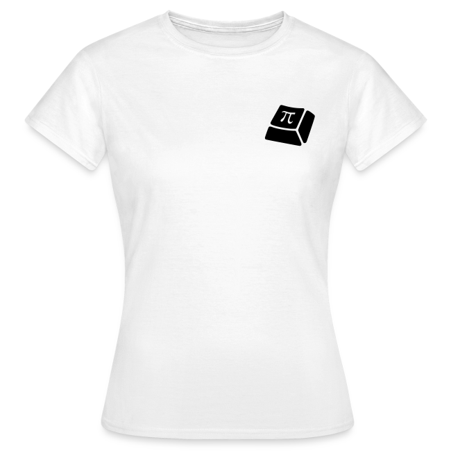 T-Shirt - Damen - Schwarzes Logo