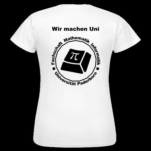 T-Shirt - Damen - Schwarzes Logo - Frauen T-Shirt