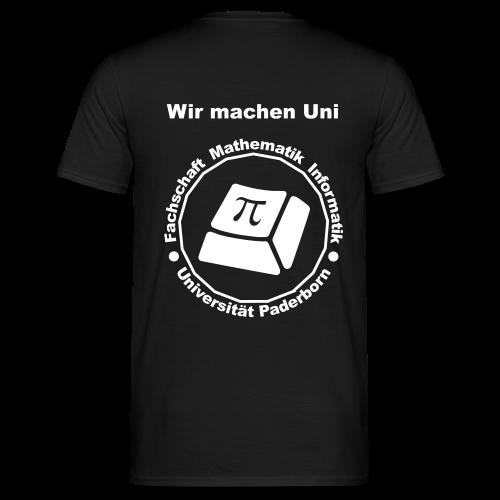 T-Shirt - Herren - Weißes Logo - Männer T-Shirt