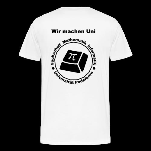 T-Shirt:Premium - Herren - Schwarzes Logo - Männer Premium T-Shirt
