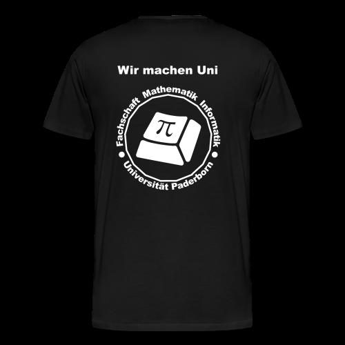 T-Shirt:Premium - Herren - Weißes Logo - Männer Premium T-Shirt
