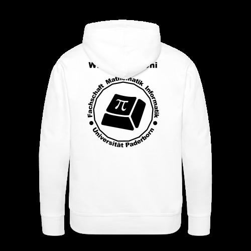 Hoodie - Herren - Schwarzes Logo - Männer Premium Hoodie