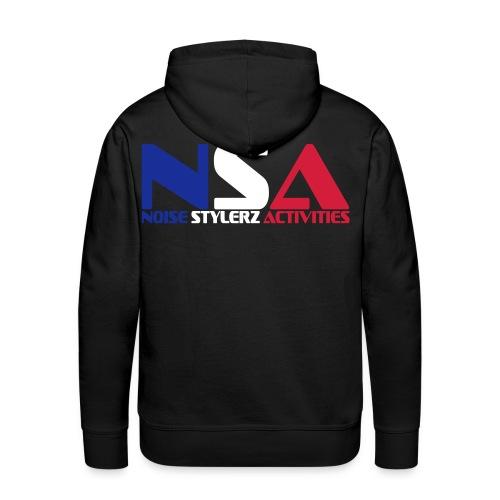 Sweat NSA  - Sweat-shirt à capuche Premium pour hommes