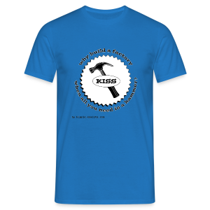 K.I.S.S. Principle - Men's T-Shirt