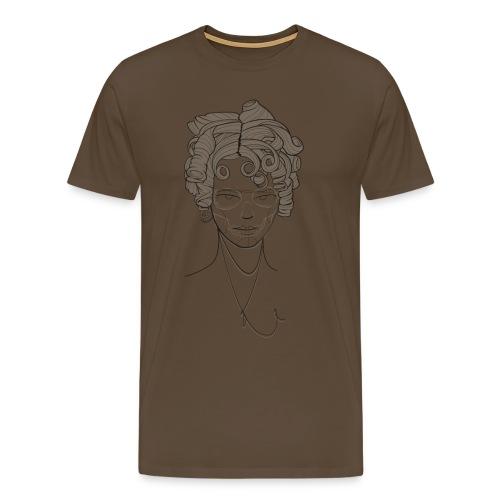 Curlyhead - Männer Premium T-Shirt