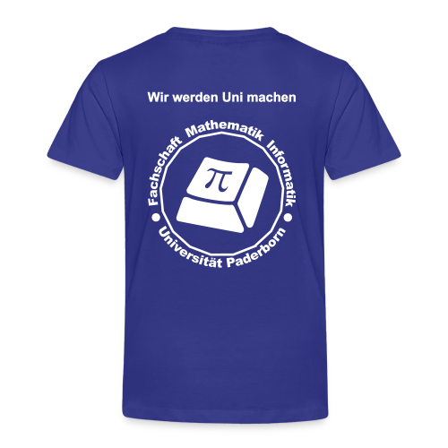T-Shirt - Kinder - Weißes Logo - Kinder Premium T-Shirt